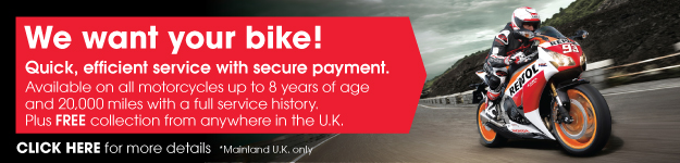 Vertu Honda Bikes - We want your bike