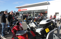 Nottingham Honda Bikes Grand Open 1