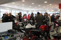 Nottingham Honda Bikes Grand Open 2