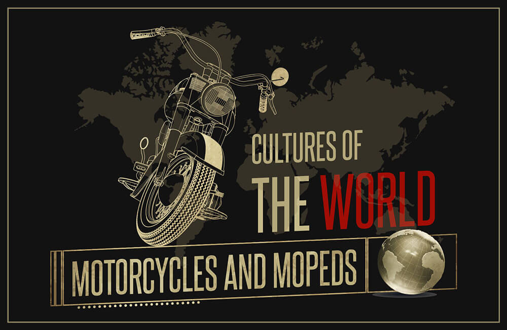Motorbike Culture Around The World - Footer