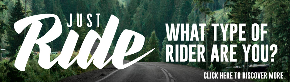 Just Ride - Honda Bikes - What Kind Of Rider