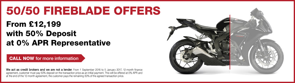 Honda 5050 Fireblade Offer