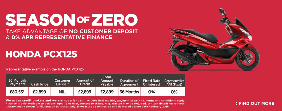 Honda PCX125 - Season of Zero