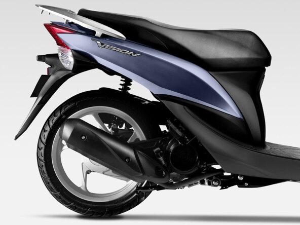 new honda vision 110 for sale vertu honda bikes. Black Bedroom Furniture Sets. Home Design Ideas
